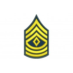 US ARMY FIRST SERGEANT Embroidered Patch