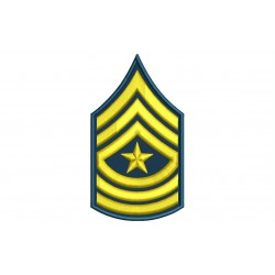 US ARMY MAJOR SERGEANT Embroidered Patch