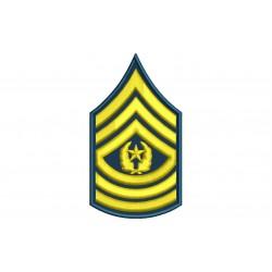Parche Bordado RANGO SARGENTO MAYOR COMANDOS (US ARMY)