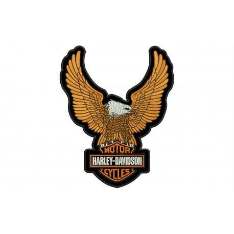 HARLEY-DAVIDSON EAGLE (Big) Embroidered Patch