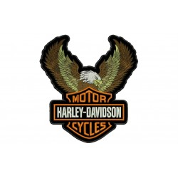 HARLEY-DAVIDSON EAGLE (Big Logo) Embroidered Patch