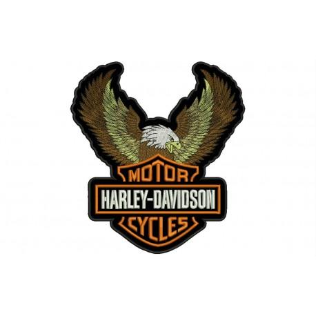HARLEY-DAVIDSON EAGLE (Big Logo) Embroidered Patch