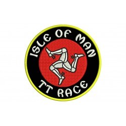 ISLE OF MAN TT RACE Embroidered Patch