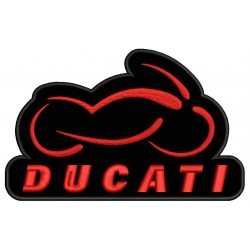 DUCATI MOTORCYCLE Embroidered Patch