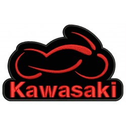KAWASAKI MOTORCYCLE Embroidered Patch