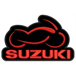 SUZUKI MOTORCYCLE Embroidered Patch