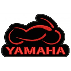 YAMAHA MOTORCYCLE Embroidered Patch