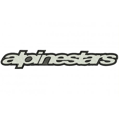 ALPINESTARS (Letters) Embroidered Patch