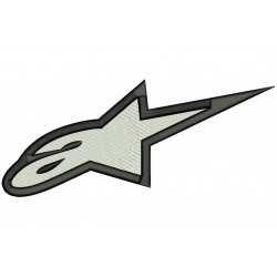 ALPINESTARS (Logo) Embroidered Patch