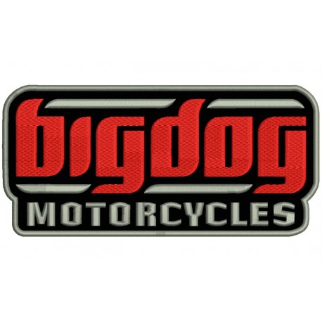 BIG DOG MOTORCYCLES Embroidered Patch