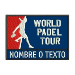 Parche Bordado WORLD PADEL TOUR (Personalizable)