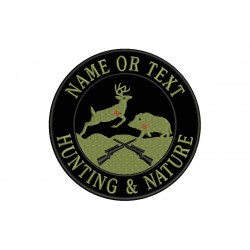 HUNTING & NATURE Custom Embroidered Patch