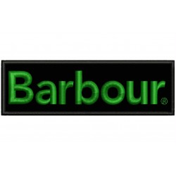 BARBOUR CLASSIC (Logo) Embroidered Patch
