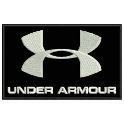 UNDER ARMOUR Embroidered Patch