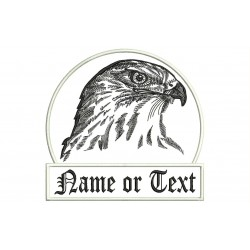 FALCONRY Custom Embroidered Patch