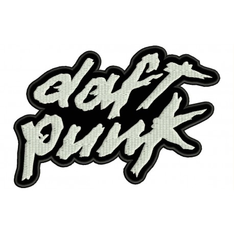 DAFT PUNK Embroidered Patch