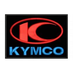 Parche Bordado KYMCO (Fondo NEGRO)