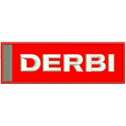 DERBI Embroidered Patch
