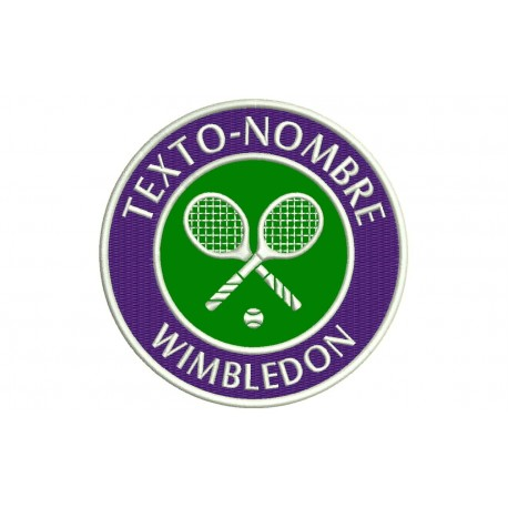 WIMBLEDON Custom Embroidered Patch