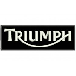 TRIUMPH (Logo) Embroidered Patch