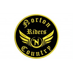 NORTON RIDERS Custom Embroidered Patch