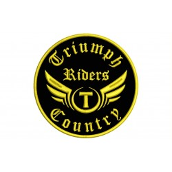 TRIUMPH RIDERS Custom Embroidered Patch