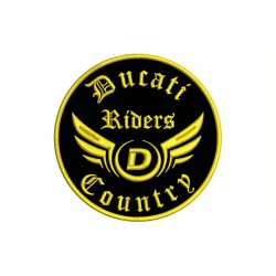 DUCATI RIDERS Custom Embroidered Patch