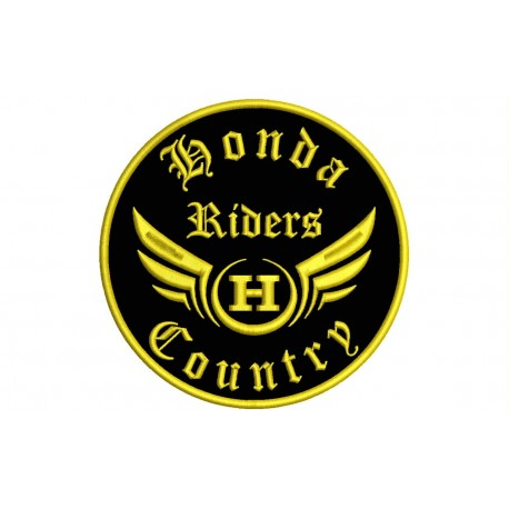 HONDA RIDERS Custom Embroidered Patch