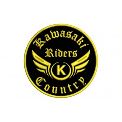 KAWASAKI RIDERS Custom Embroidered Patch