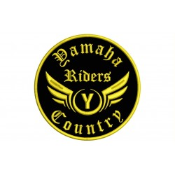 YAMAHA RIDERS Custom Embroidered Patch
