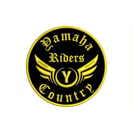 YAMAHA RIDERS Custom Embroidered Patch
