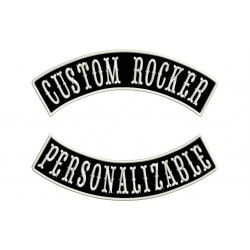 ROCKER BIKER RIDER CUSTOM SET