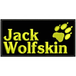 JACK WOLFSKIN Embroidered Patch