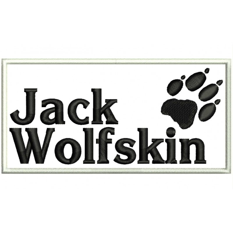 get cheap classic shoes casual shoes JACK WOLFSKIN Embroidered Patch