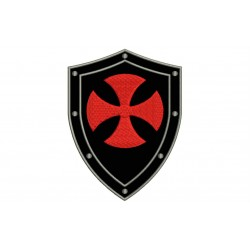 TEMPLAR SHIELD Embroidered Patch