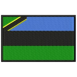 ZANZIBAR FLAG Embroidered Patch