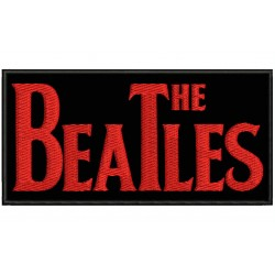 THE BEATLES Embroidered Patch