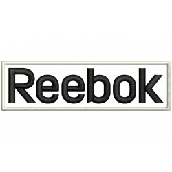 REEBOK (Letters) Embroidered Patch