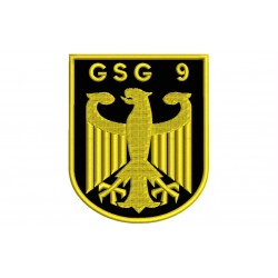 GSG9 (GrenzSchutzGruppe 9) Embroidered Patch