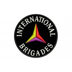 INTERNATIONAL BRIGADES Embroidered Patch