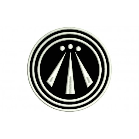 AWEN (Celtic Symbology) Embroidered Patch