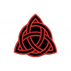 TRIQUETRA (Celtic Symbology) Embroidered Patch