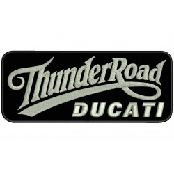 THUNDER ROAD DUCATI Embroidered Patch