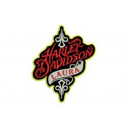 Parche Bordado HARLEY-DAVIDSON (Personalizable)