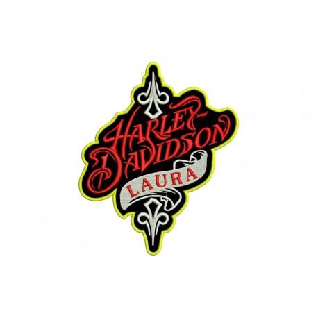 HARLEY-DAVIDSON Custom Embroidered Patch
