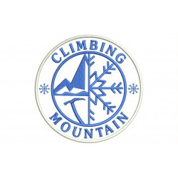 CLIMBING & MOUNTAIN Embroidered Patch
