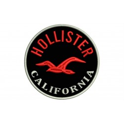 HOLLISTER (Circle Logo) Embroidered Patch