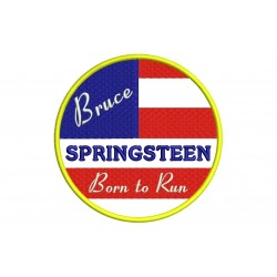 Parche Bordado BRUCE SPRINGSTEEN (Born to Run)