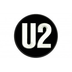 U2 Embroidered Patch