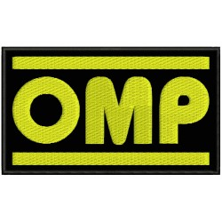 OMP RACING (Logo) Embroidered Patch